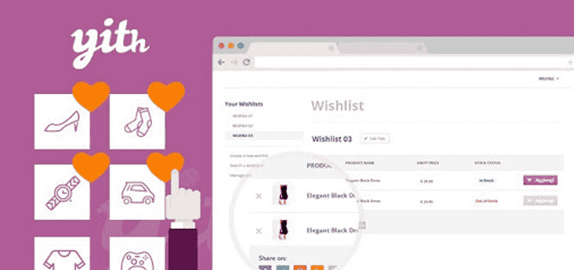 YITH WooCommerce Wishlist is the most powerful WooCommerce wishlist plugin